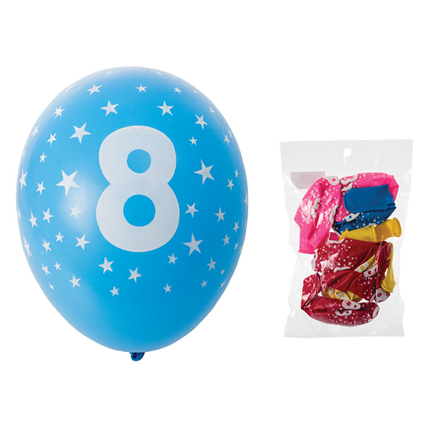 Balloons Suitable For Helium, Printed