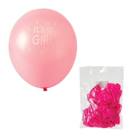 It's a Girl Balloon Suitable For Helium