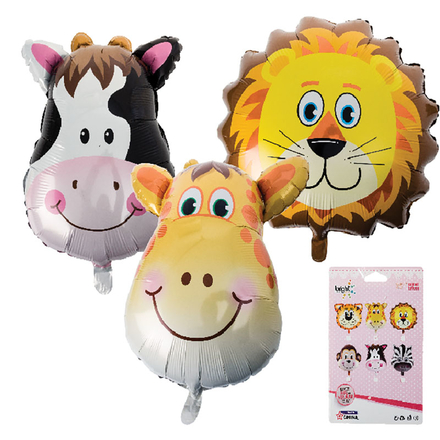 Animals Helium Foil Balloon
