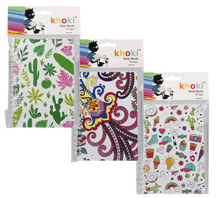 A6 Spiral Bound Note Book