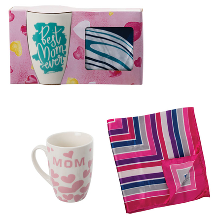 Mug With Scarf Gift Set