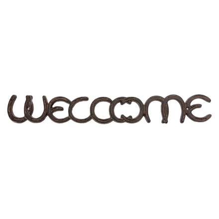 Wall Mounted Welcome Sign
