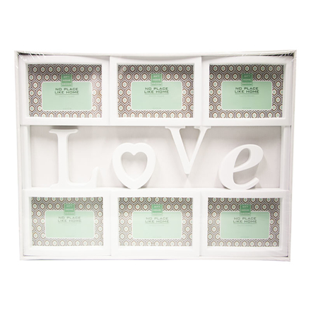 Plastic Collage Picture Frame