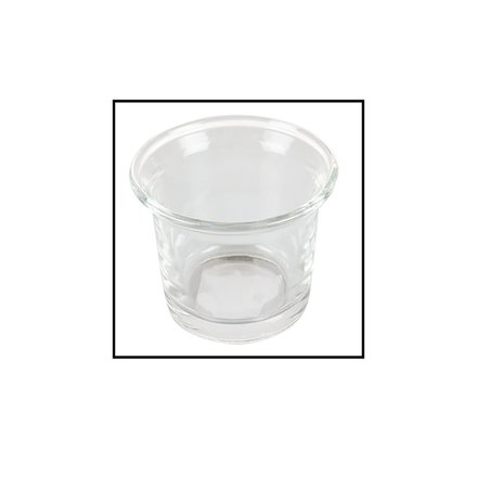 Glass Tea-Lite Candle Holder