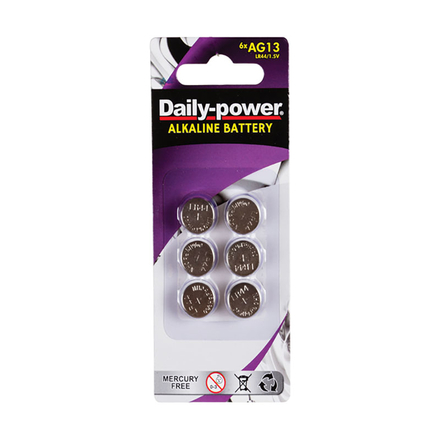 Daily Power Alkaline 1.5V Button