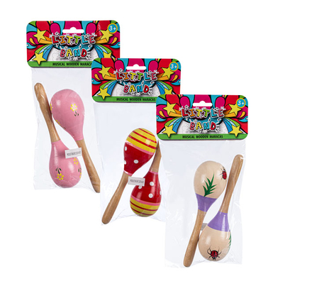 Little Maestro Wooden Maracas