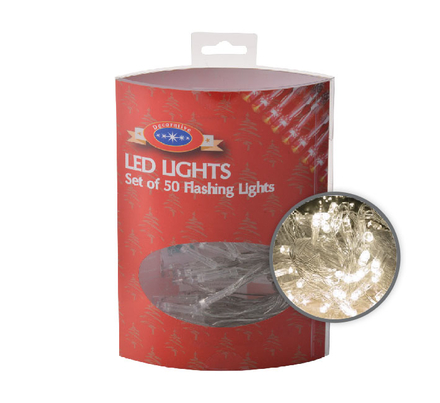 50 Battery Operated LED Lights