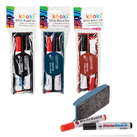 Whiteboard Markers And Eraser