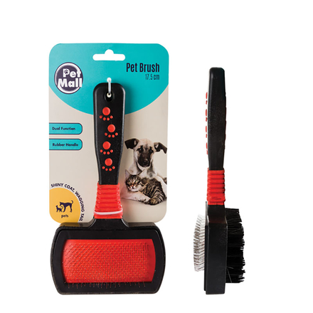 Dog/Cat Rubber Wide Brush