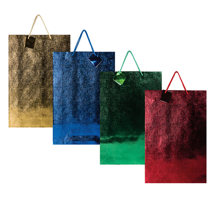 Jumbo Metallic Embossed Gift Bag