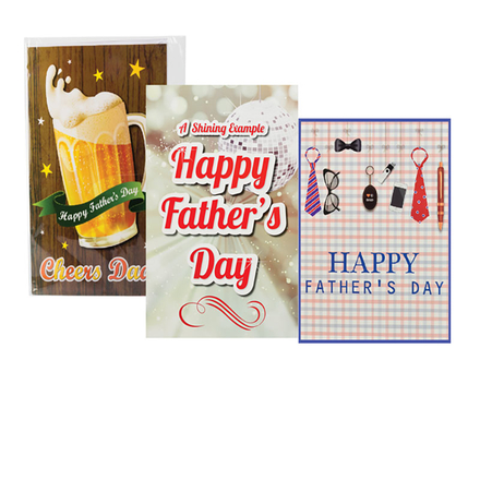 Giant Fathers Day Card & Envelope