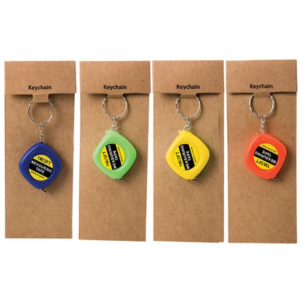 Key Chain Measuring Tape 1m