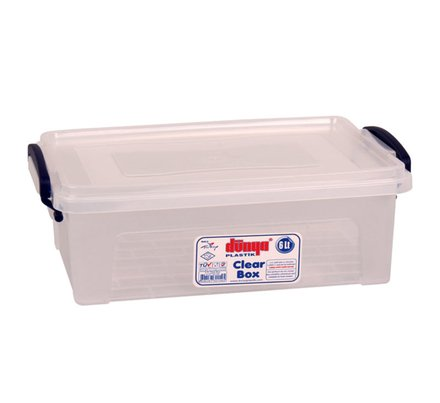 Clear Plastic Storage Box