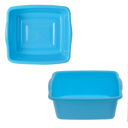 Oblong Plastic Basin
