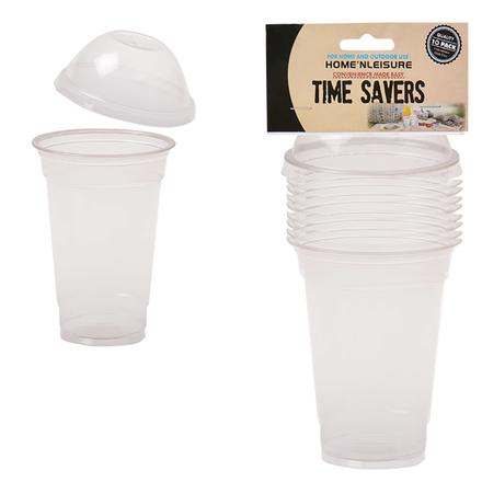 Disposable Plastic Dome Shaped Cups