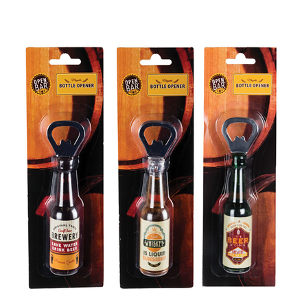 Beer Bottle Shaped Bottle Opener