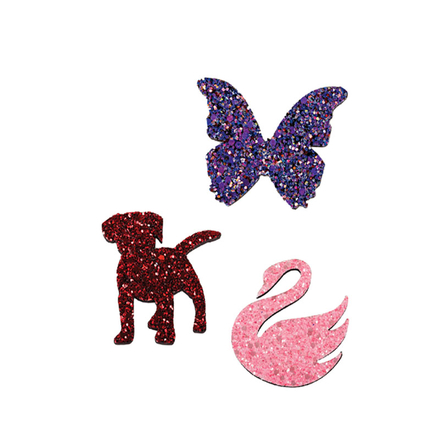 Animal Shaped Glitter Magnet