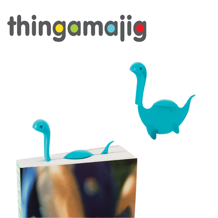 Thingamajig Nessie Shaped Bookmark