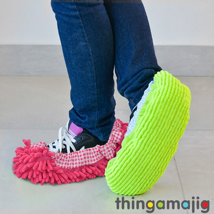 Thingamajig Chenille Mop Shoe Covers