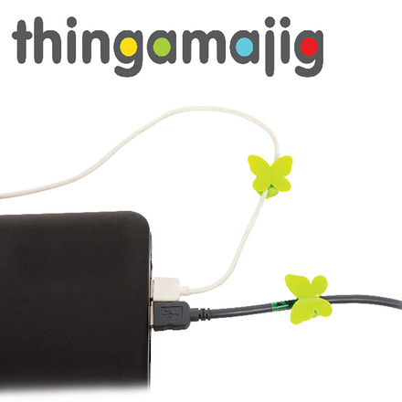 Thingamajig Cable Tidies 'Butterflies'