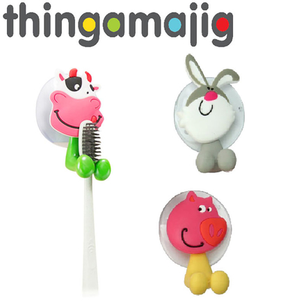 Thingamajig Plastic Tooth Brush Holder