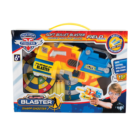 Space Blaster With Foam Bullets