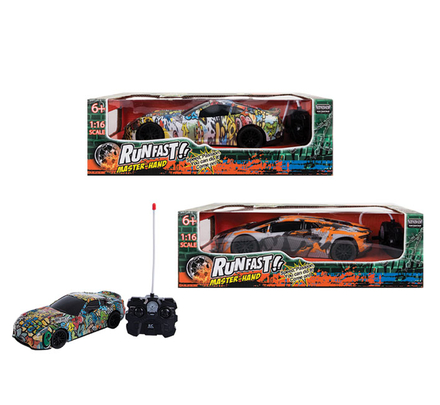 Radio Control Graffiti Car