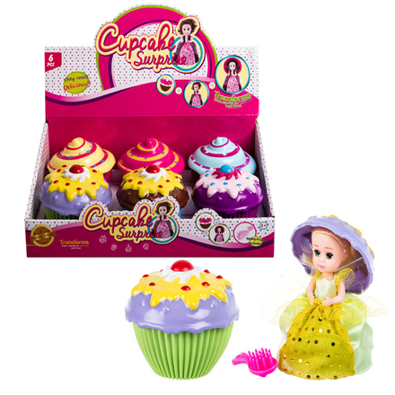 Scented Doll In Cupcake