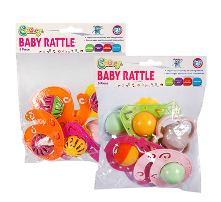 Baby Rattle Assortment