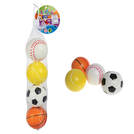 Stress/Soft Play Sport Balls