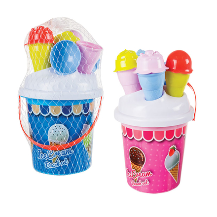 Ice Cream Beach Bucket Set