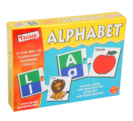 Think Learning the Alphabet