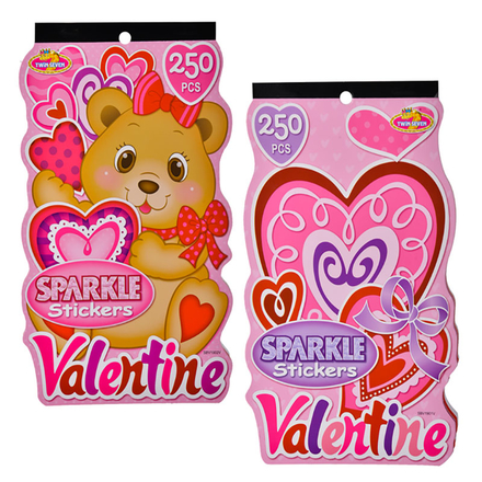 Sparkly Love Sticker Book