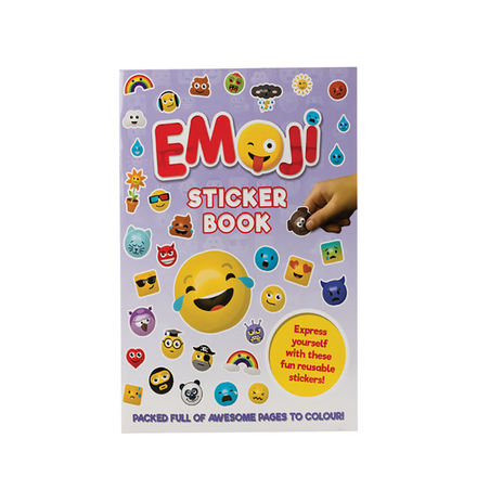 Emoji Sticker Book