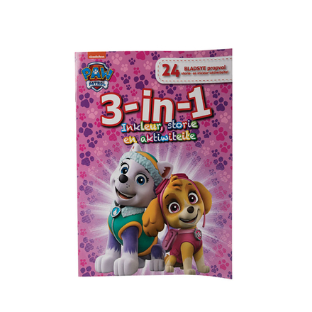 Paw Patrol 3-In-1 Activity Book