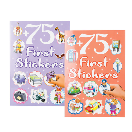 75 First Sticker Book