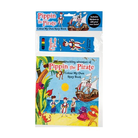 Hanging Pirate Colouring Set