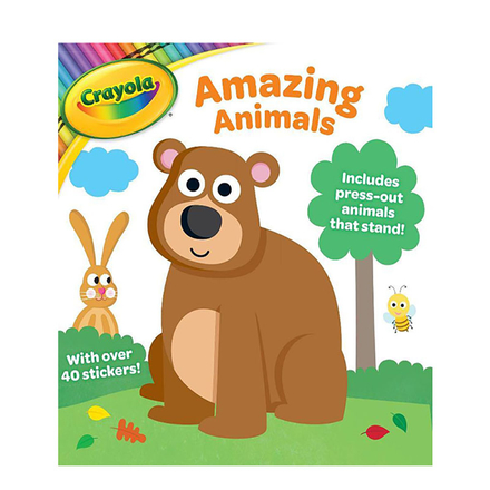 Crayola Activity Book Amazing Animals