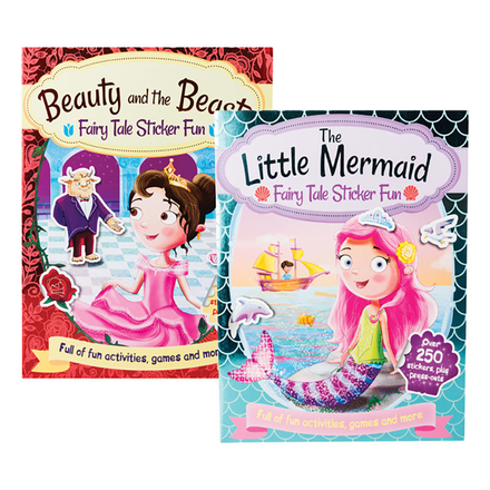 Fairy Tale Fun Activity Book
