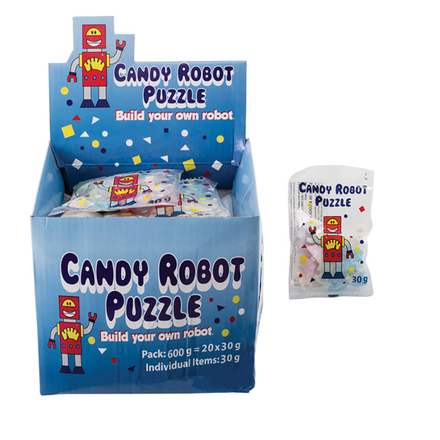 Candy Robot Puzzle