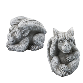 Ornamental Ceramic Gargoyle
