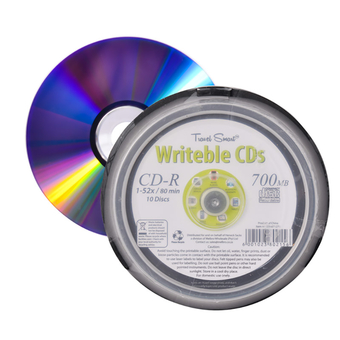Writable CD, Drum Of 10