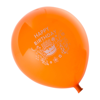 Balloon Suitable For Helium, Printed
