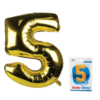 Gold Helium Balloon