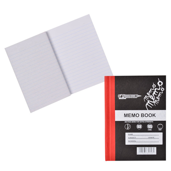 Croxley Hard Cover A6 Memo Book