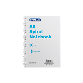 Marlin A6 Spiral Bound Note Book