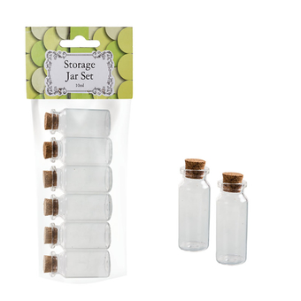 Mini Glass Storage Bottles With Cork