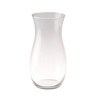 Clear Florist Vase Claudia Shape