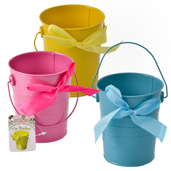 Pail Planter With Handle