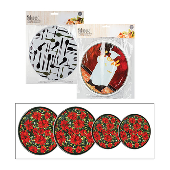 4-Piece Stove Burner Covers